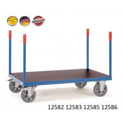 Chariots de manutention à barres de poussée renforcé