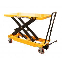 Table élévatrice manuelle charge 1000 Kg (plateau palette)